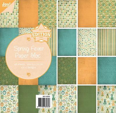 Joy! papierblok 15x30 cm spring fever 6011/0393