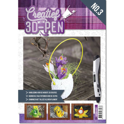 Creatief met de 3D-pen - Pasen - A4 boek