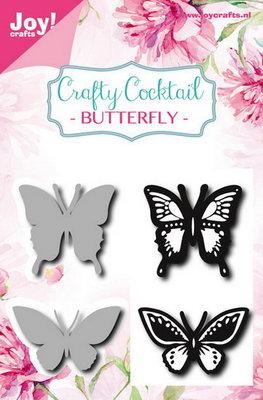 Joy! stempel met mal vlinders 6004/0010
