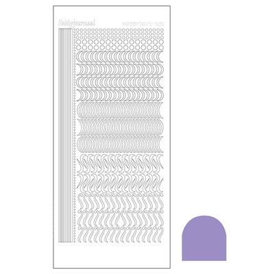 Hobbydots sticker - Mirror - Violet STDM206