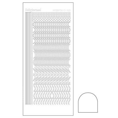 Hobbydots sticker - Adhesive White STDA200