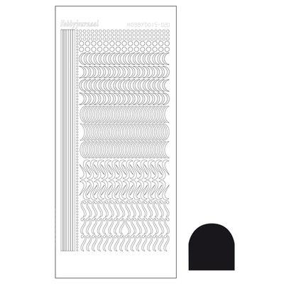 Hobbydots sticker - Adhesive Black STDA203