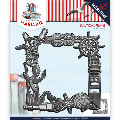 Die - Amy Design - Maritime - Nautical Frame  ADD10100
