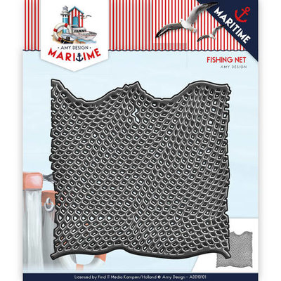 Die - Amy Design - Maritime - Fishing Net  ADD10101