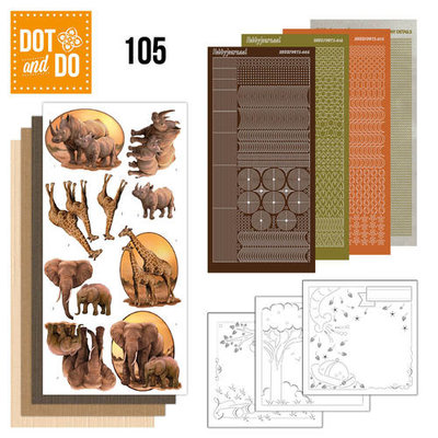 Dot & do  104 Wild animals