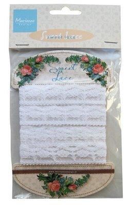 Ribbon - Sweet lace  - flower - Marianne Design - JU0935