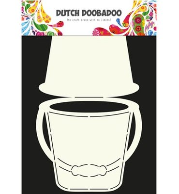 Dutch Doobadoo - Dutch Card Art -  Bucket