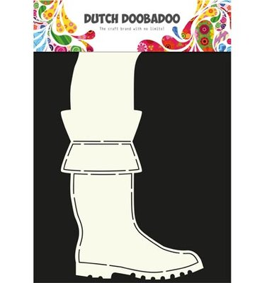 Dutch Doobadoo - Dutch Card Art -  Boots
