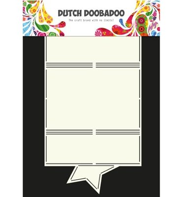 Dutch Doobadoo - Dutch Card Art -  Ster