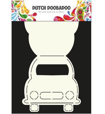 Dutch Doobadoo - Dutch Card Art -  Car