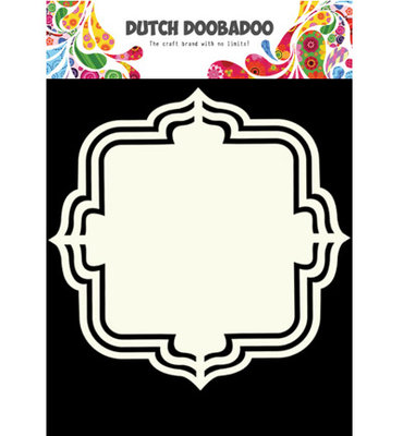 Dutch Doobadoo - Shape Art  A5 - Floral