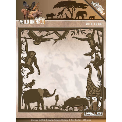 Die - Amy Design - Wild Animals - Wild frame   ADD10103