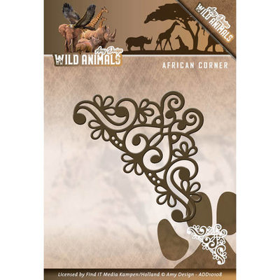 Die - Amy Design - Wild Animals - African Corner  ADD10108