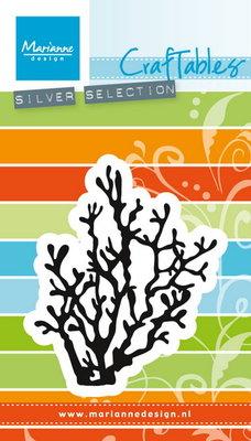 Marianne desgn - Craftables stencil - coral