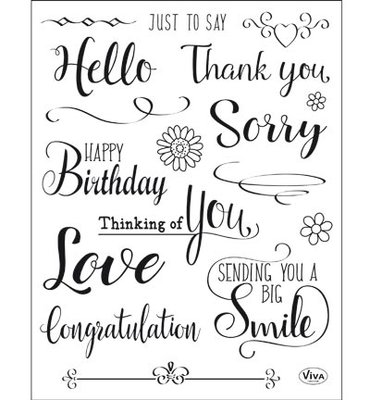 Viva MyPaperworld - Clear Stamps