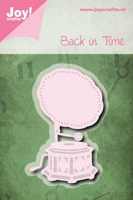 Joy! stencil back in time - grammofoon 6002/0793