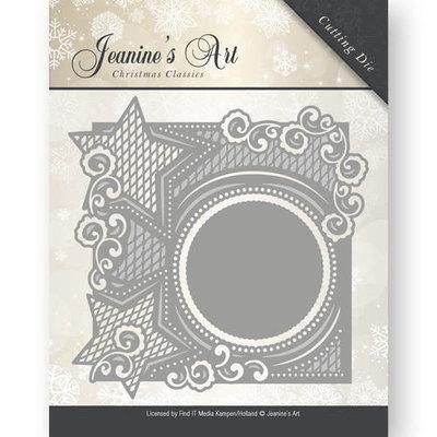 Die - Jeaninnes Art - Christmas Classics - Star frame  JAD10006
