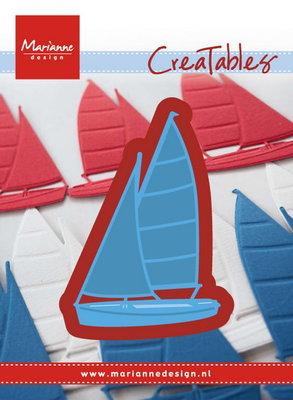 Marianne desgn - Creatables stencil - sailboat