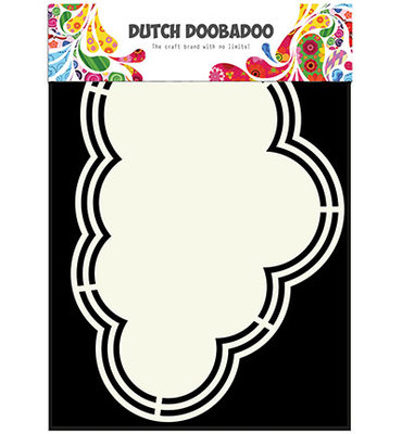 Dutch Doobadoo - Shape Art  A5 Cloud
