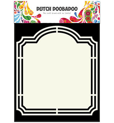 Dutch Doobadoo - Shape Art  A5 Frame