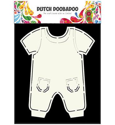 Dutch Doobadoo - Card Art - Dungarees