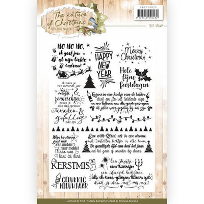 Clear Stamp - Precious Marieke - The Nature of Christmas PMCS10020