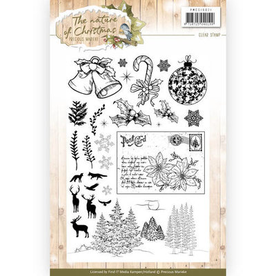 Clear Stamp - Precious Marieke - The Nature of Christmas PMCS10021