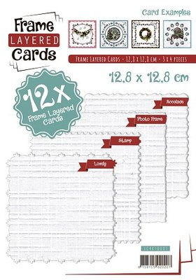 Layered Frame Cards 1 - 4K