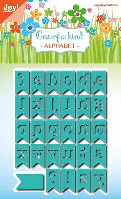 Joy! stencil alfabet banners (29 st)  6002/0799