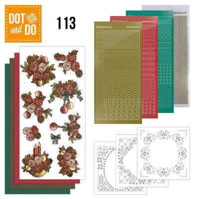 Dot & do  113 Christmas Flowers