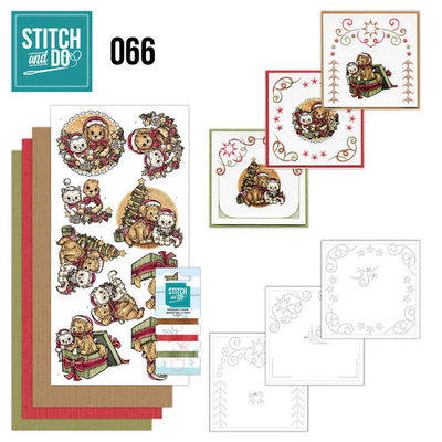 Stitch & do - 66 Christmas Animals