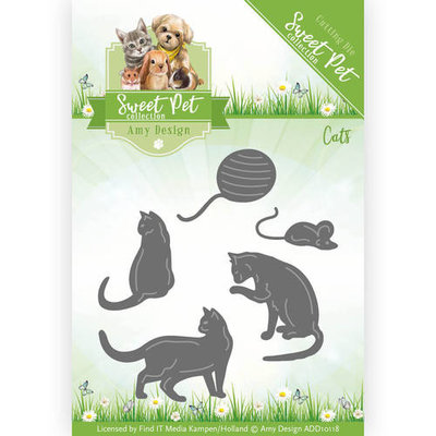 Die - Amy Design -Sweet Pet - Cats