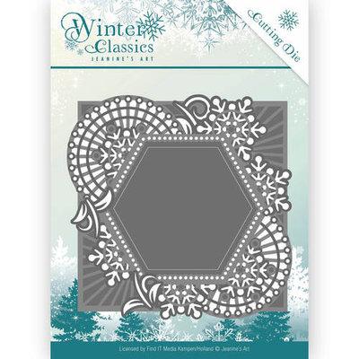 Die - Jeanine's Art - Winter Classics - Mosaic frame JAD10015