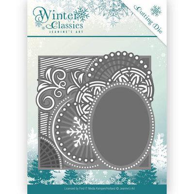 Die - Jeanine's Art - Winter Classics - Curly Frame JAD10016