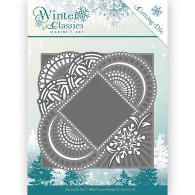 Die - Jeanine's Art - Winter Classics - Mirror Frame JAD10017