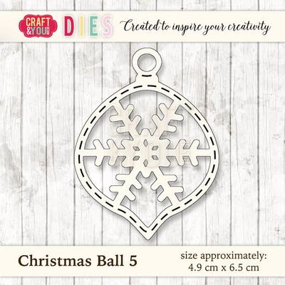 CYD die Christmas ball 5