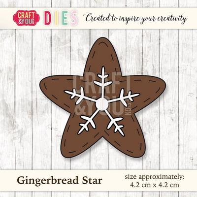 CYD die Gingerbread star