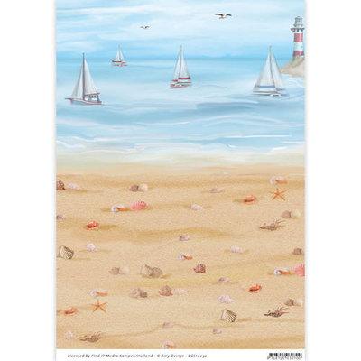 Backgroundsheets - Amy Design - Maritime