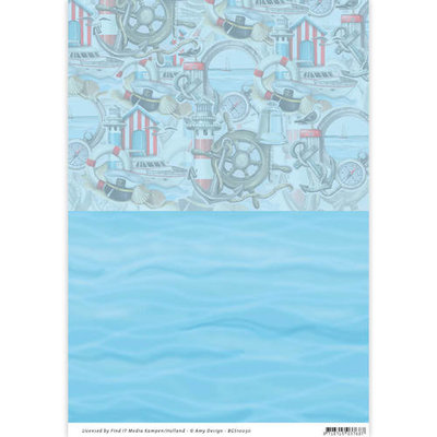 Backgroundsheets - Amy Design - Maritime 10030