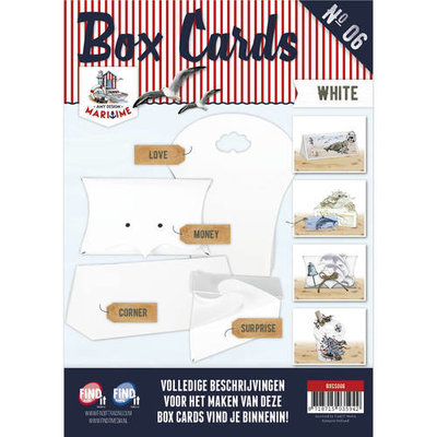 Box Cards Nr 06 Wit