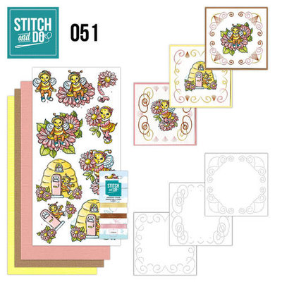 Stitch & do - 51 Bijtjes