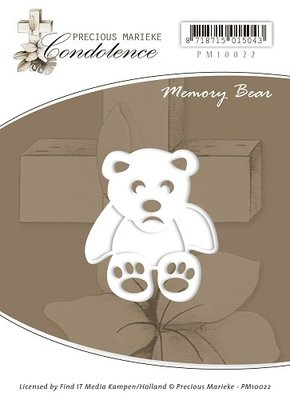 Die - Precious Marieke - Condoleance - Memory Bear