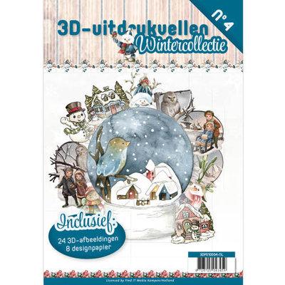 3D uitdrukvellen boek Wintercollectie nr3