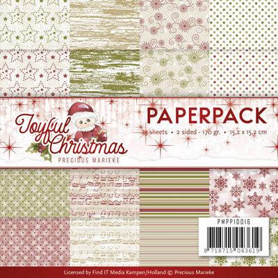 Paperpack - Precious Marieke - Joyful Christmas