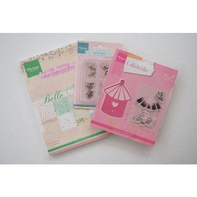 Marianne Design products assorti birdhouse