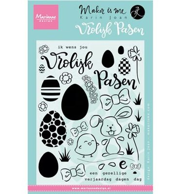 Marianne desgn - Clear Stamp KJ1705 - Pasen