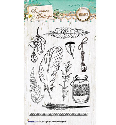 Studio Light Clear Stempel, A6, STAMPSF189 - Summer Feelings nr.189