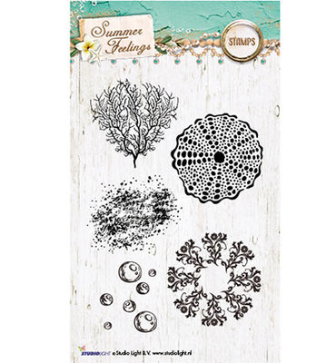 Studio Light Clear Stempel, A6, STAMPSF191 - Summer Feelings nr.191