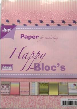 Joy! crafts - Paperpack - Happy Bloc`s 6011/0008