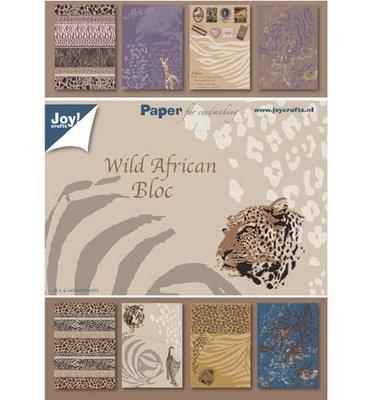 Joy! crafts - Paperpack - Wild African Bloc 6011/0081